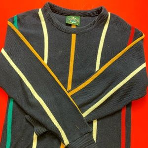Jantzen Striped Pullover Sweater